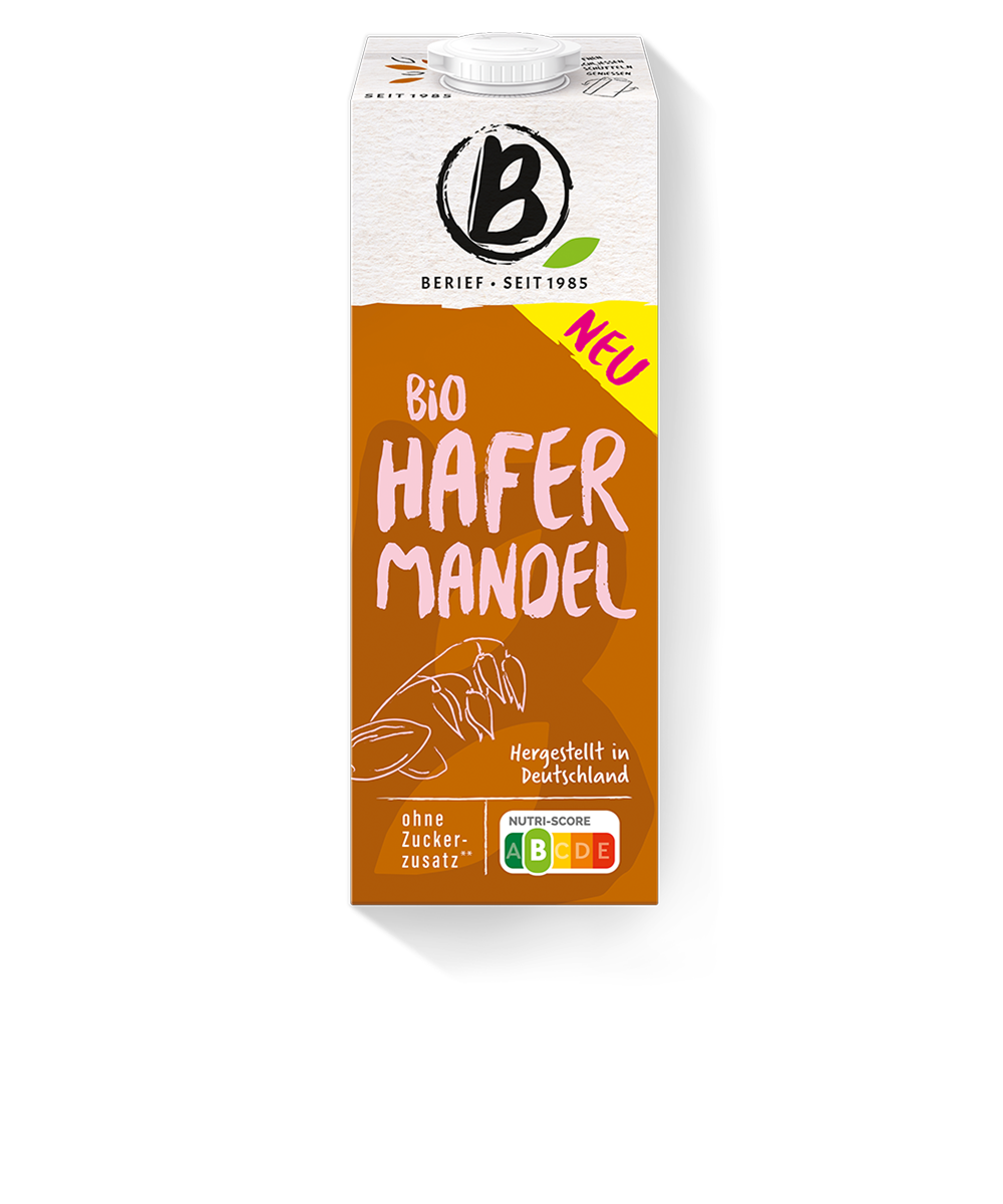 Bio Hafer Mandel